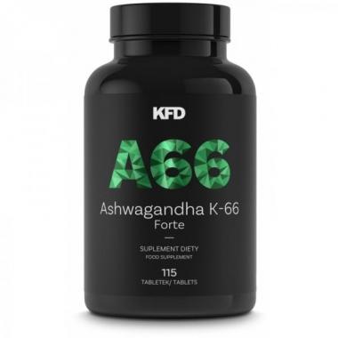 KFD Ashwagandha 66+ 115tbl