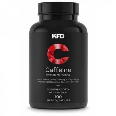 KFD Caffeine 200mg, 100tbl