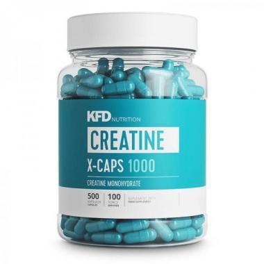 KFD Creatine X-caps 1000 (500 kapslit)