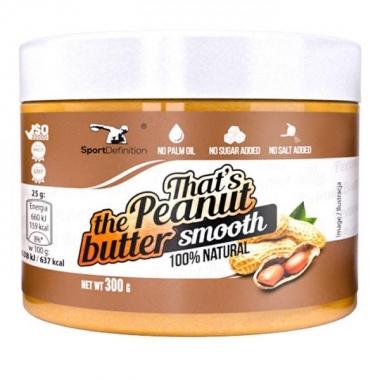 Sport Def. peanut butter SMOOTH 300g