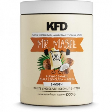 KFD White Chocolate Coconut Butter Smooth 1000g