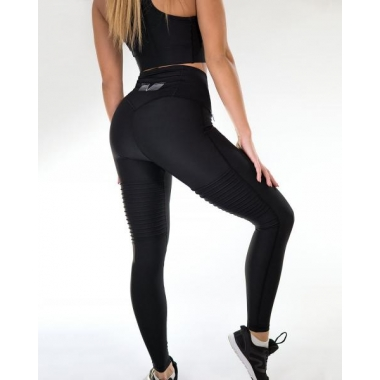 PLAIN Black compression leggings