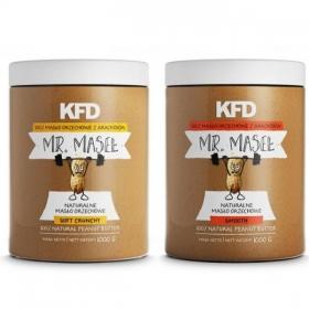 KFD Peanut Butter SMOOTH 1000g + CRUNCHY 1000g