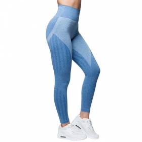 Anarchy  Wabisabi Seamless leggings OCEAN BLUE