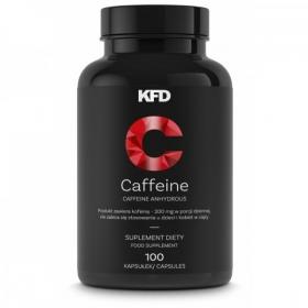 KFD Caffeine 200mg, 100tbl Kofeiini tabletid