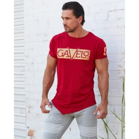 GAVELO Sports Tee chili red - MEN