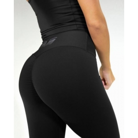 POP Black Scrunch leggings