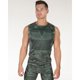 GAVELO Sniper Green Sleeveless Tee