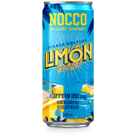 NOCCO Limon SUMMER EDITION BCAA 330ml(e-poe soodushind sis. panti 0,10€)
