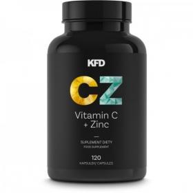KFD Vitamin C+  Zinc (120 tbl)
