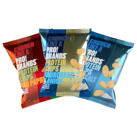 3x ProBrands Protein Chips MIX 6x50g