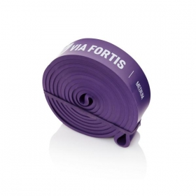 Via Fortis Resistance Band Purple- MEDIUM