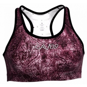 Gavelo Eclipse Red sports bra