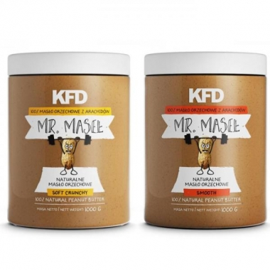 KFD kombo maapähklivõi SMOOTH + CRUNCHY (2kg)