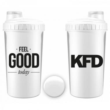 KFD shaker 700ml WHITE- Feel Good