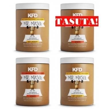 4x KFD Peanut Butter SMOOTH + CRUNCHY
