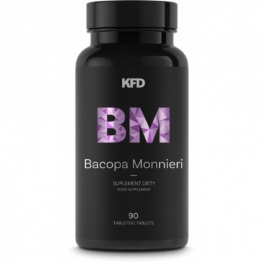 KFD Bacopa Monnieri 90tbl