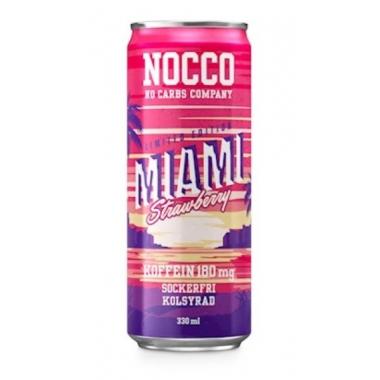 Nocco Miami Strawberry BCAA 330ml