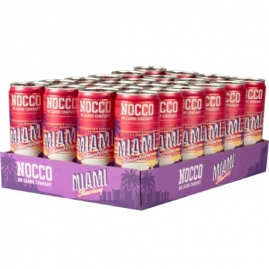 Nocco Miami Strawberry BCAA 330ml x 24