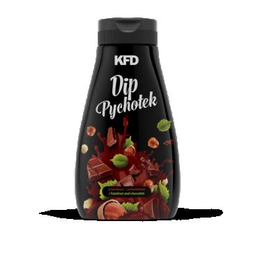 KFD Pychotek hazelnut-chocolate dip with protein 250g (Best before 21.02.21)