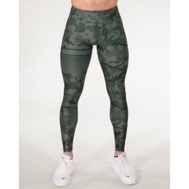 GAVELO Sniper Camo Green Compression Pants