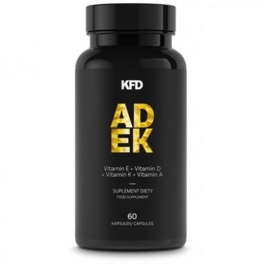 KFD ADEK 60 capsules (vitamins A, D, E and K)