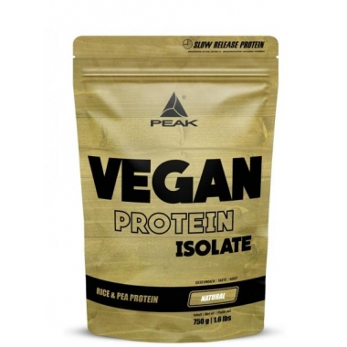 Peak Vegan Protein Isolate 750g