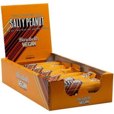BOX Barebells VEGAN protein bars 12pcs- SALTY PEANUT