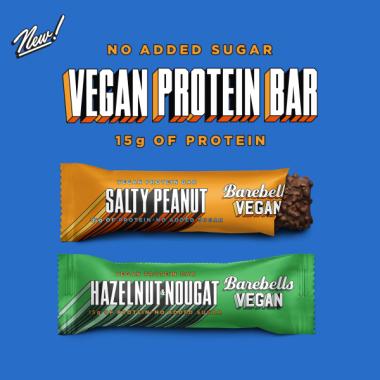 MIX BOX Barebells VEGAN protein bars 12pcs