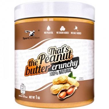 Sport Def. peanut butter crunchy 1000g