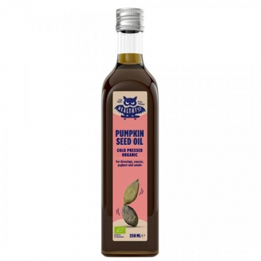 HealthyCo orgaaniline külmpressitud kõrvitsaseemne õli 250ml