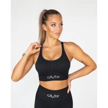 Gavelo Seamless BLACK Sports Bra