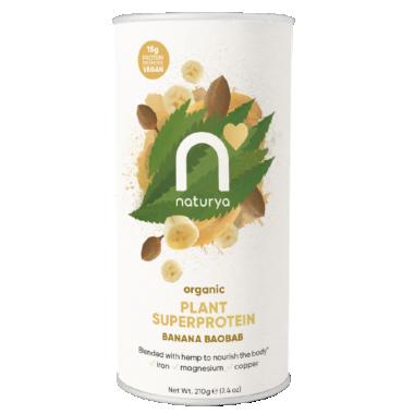 Naturya Organic Plant SuperProtein- Banana Baobab 210g