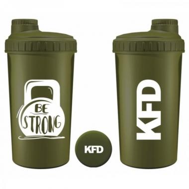 KFD shaker 700ml GREEN- Be Strong