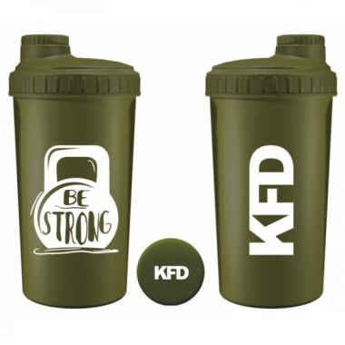 KFD sheiker 700ml NEON ROHELINE- Be Strong