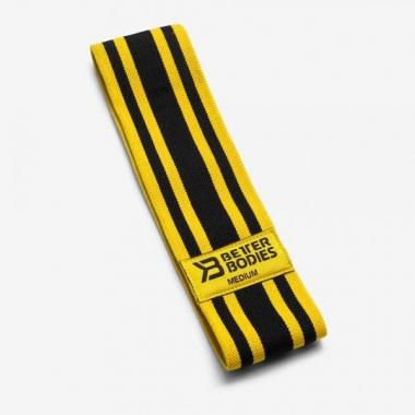 Better Bodies Resistance Band Black-Yellow MEDIUM