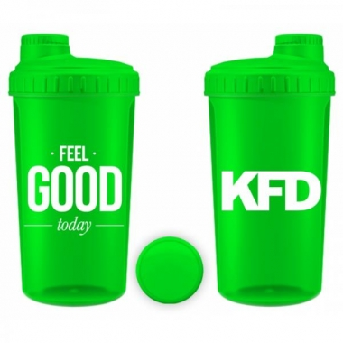 KFD shaker 700ml GREEN- Feel Good