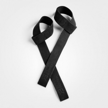 Better Bodies leather lifting straps- Black