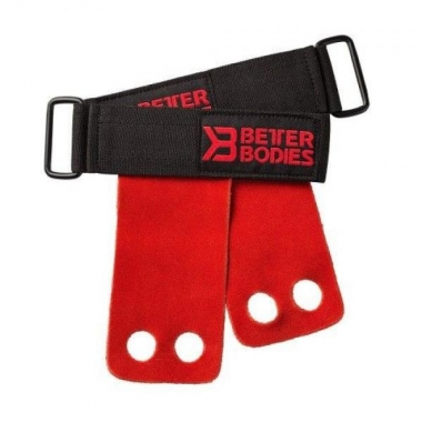 Better Bodies Athletic Grips (Bright Red)