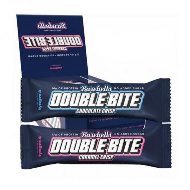 MIX kast BAREBELLS Double Bite proteiinibatoone 12 tk