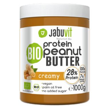 JabuVit Organic Peanut Butter CREAMY 1kg