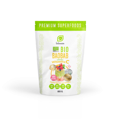 Intenson Bio Organic Baobab powder 80g