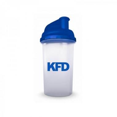 KFD shaker transparent-blue 700ml