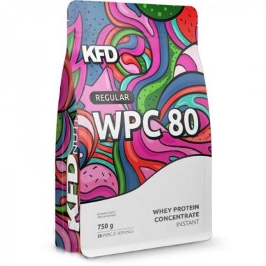 KFD Regular WPC80 protein 750g