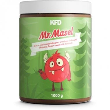 KFD luonnollinen hasselpähkinävoi - suklaa tasainen - 1000 g