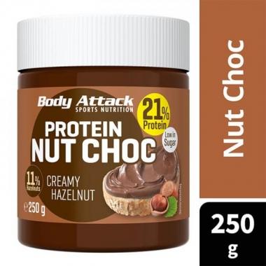 Body Attack Protein NUT CHOC Creamy Hazelnut 250g