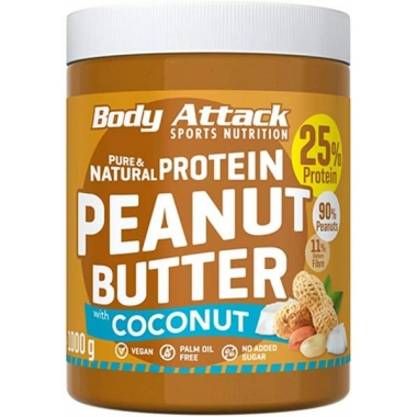 Body Attack Peanut Butter with Coconut 1kg
