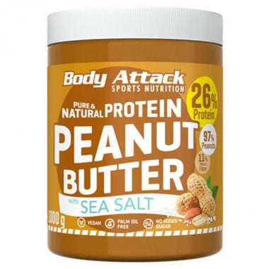 Body Attack Peanut Butter with Sea Salt 1kg