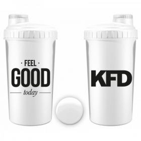 KFD sheiker 700ml VALGE- Feel Good