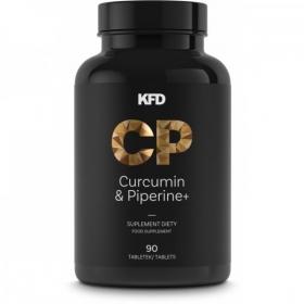 KFD Curcumin & Piperine 90tbl /Kurkumiin ja piperiin